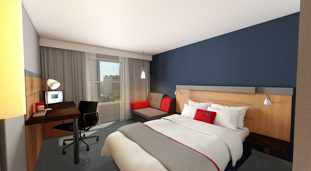 Guests staying at the Holiday Inn Express Cheltenham will soon enjoy a new and improved hotel experience, as the Redefine|BDL Hotels venue begins a revamp