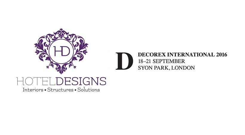 Hotel Designs media partners for Decorex