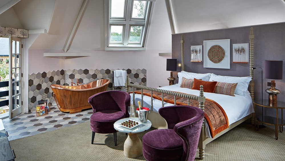 The Granary Bedroom Pennyhill Park, an Exclusive Hotel & Spa MR