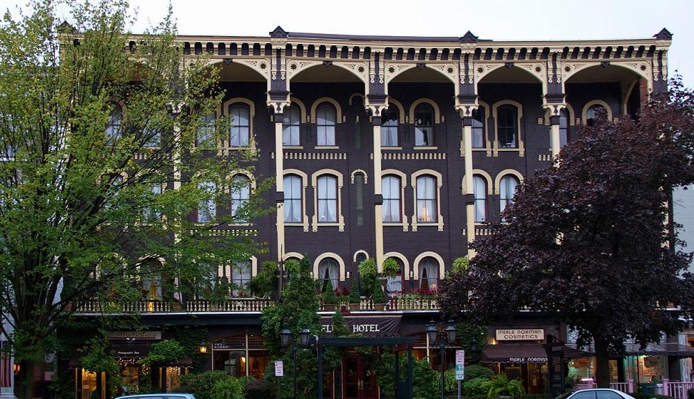 Adelphi Hotel, Saratoga NY
