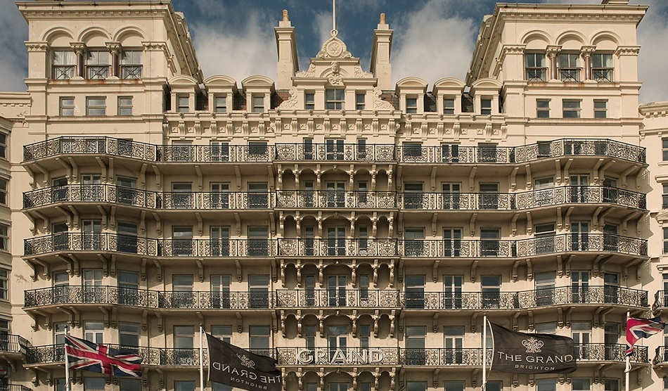 Grand Brighton facade renovation