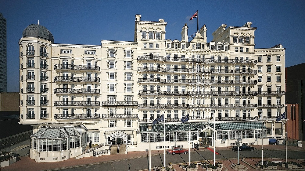 The Grand Brighton facade renovation