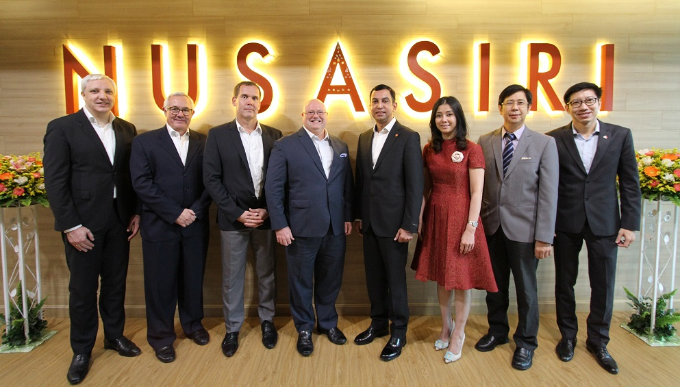 The Swiss hotel management company, Mövenpick Hotels & Resorts, has signed an agreement with leading real estate developer Nusasiri to manage three properties in Thailand
