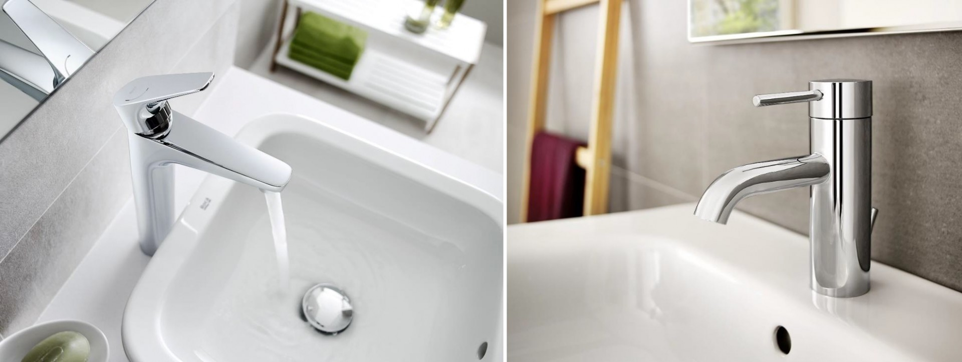 Product Spotlight: Roca brassware - Atlas and Lanta