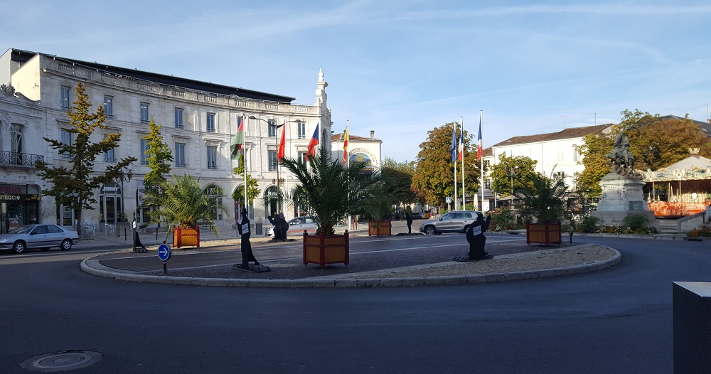 The centre of Cognac
