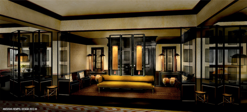 Lobby of Duxton Club - Luxury Collection