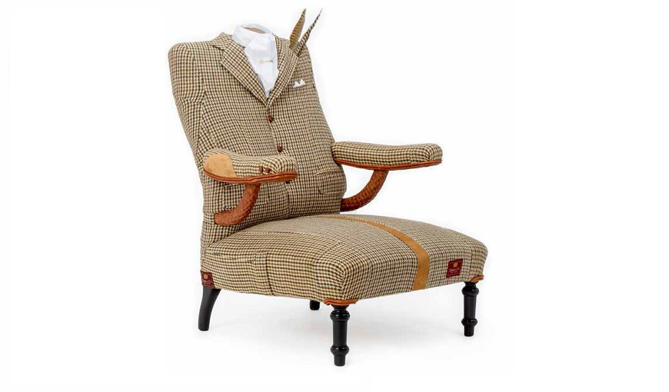 The Dapper Armchair - RhubarbLondon