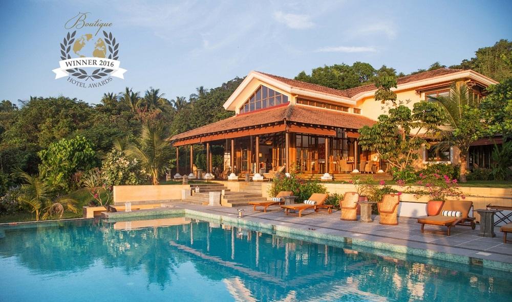 Summertime luxury villa in goa wins world boutique for Hotel design 2016