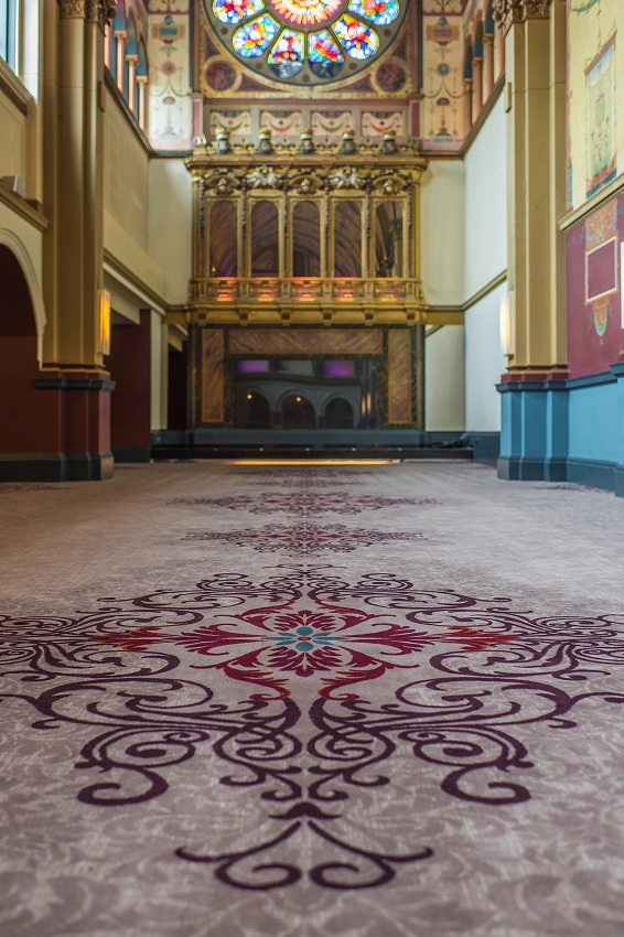 Wilton Carpets work at The Chapel, Beaumont
