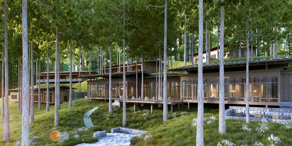 Six Senses Hotels Resorts Spas has designed a project that is actually five individual satellite resorts in five separate locations, but all under the umbrella of one all-encompassing name: Six Senses Bhutan