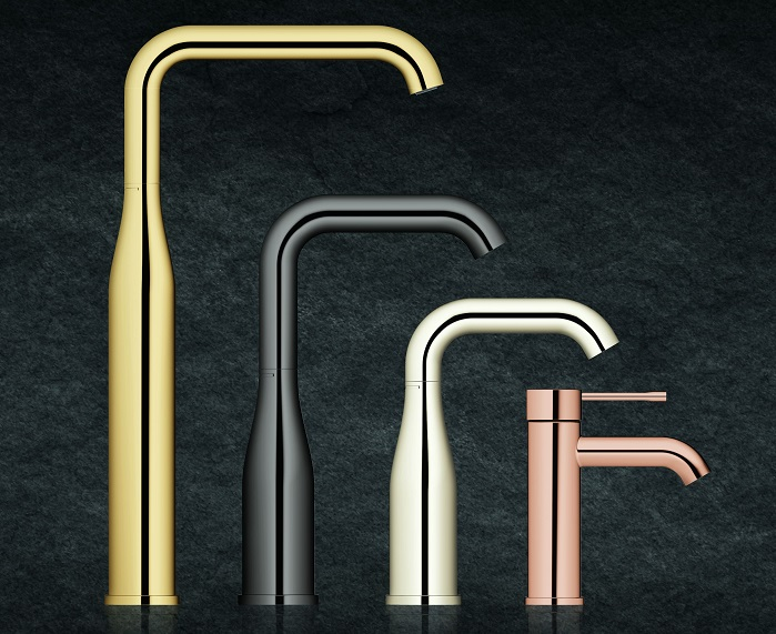introducing grohe essence freedom of choice in the bathroom. Black Bedroom Furniture Sets. Home Design Ideas