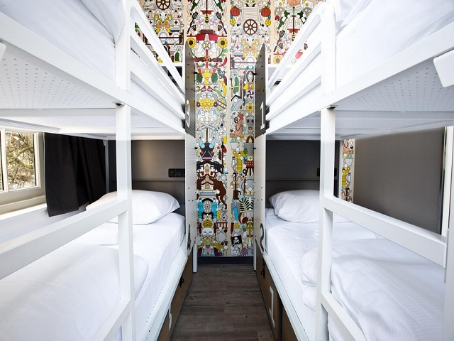 sneak peek generator hostels in amsterdam rome stockholm. Black Bedroom Furniture Sets. Home Design Ideas