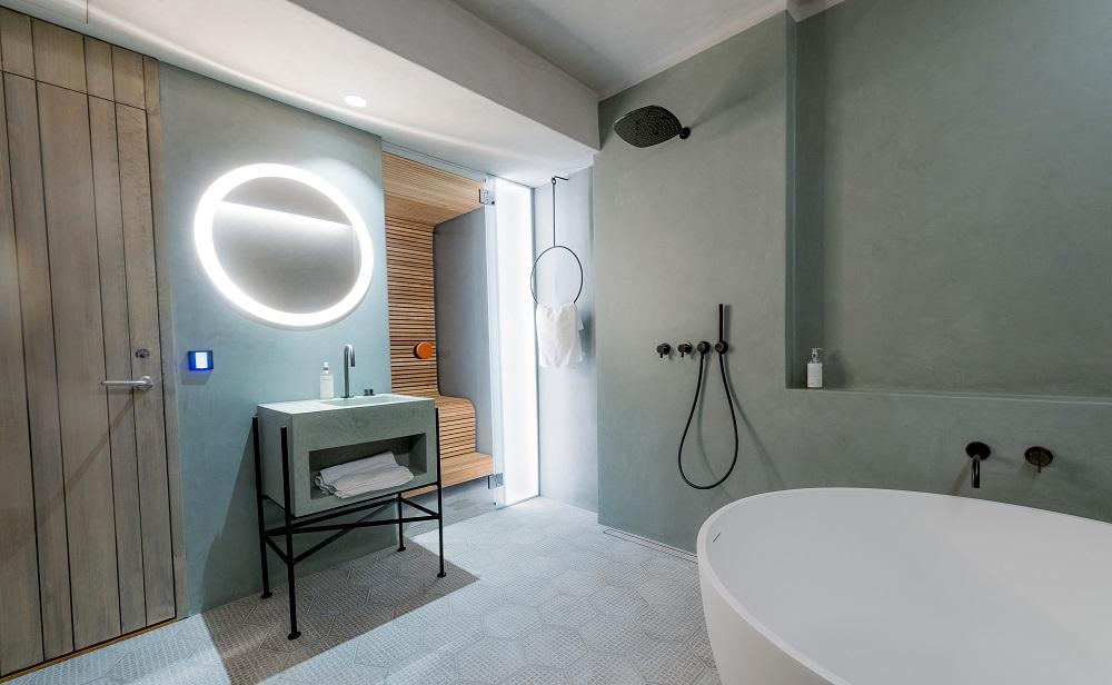 Relax room in Deluxe Suite by Marjolein Vonk and Pia Sandgren