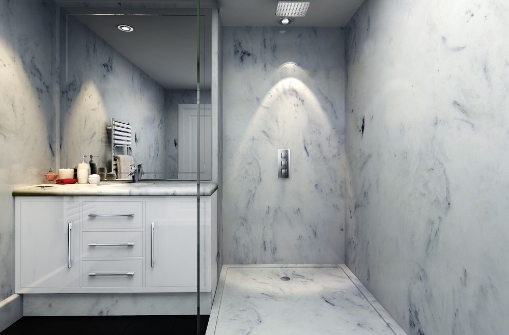 Opinion Versital UK Faux Marble Market Set For Rapid Growth - Fake marble shower walls