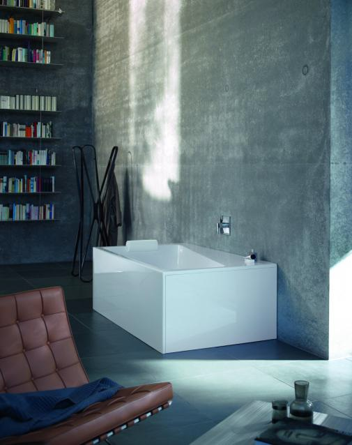 Duravit - concrete in the bathroom