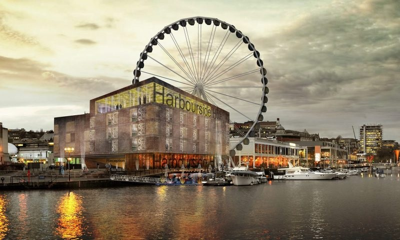 Bristol 'floating complex' in planning