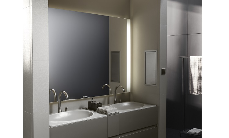 hotel bathroom mirrors february lighting focus roca offers lighting solutions 13168