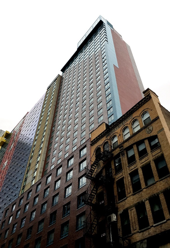 Massive Doubletree New York designed by Gene Kaufman opens