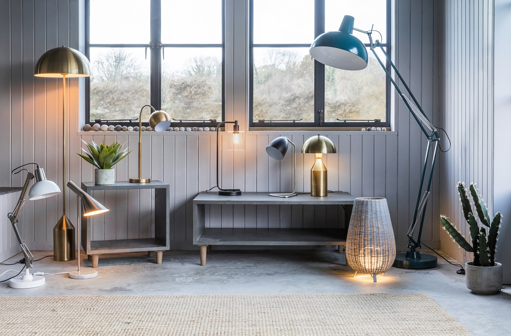 New lighting and faux flora - Gallery Direct
