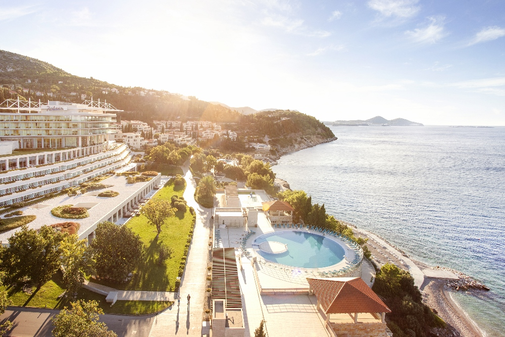 Sun gardens dubrovnik joins the leading hotels of the world for Hotels of the world