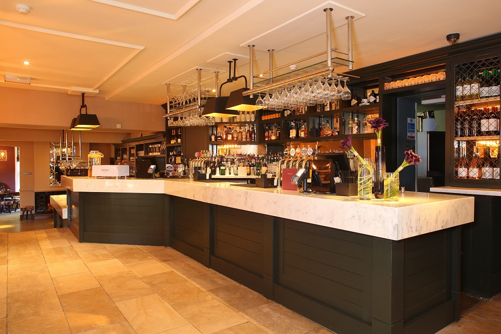 Versital bar top specified in Marchmont Arms, Hemel Hempstead