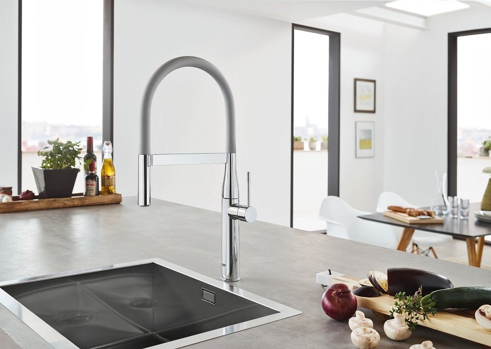 GROHE Red Dot Award - Essence Professional matte dark grey