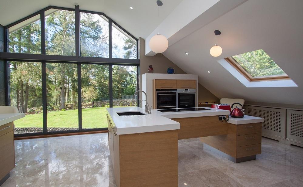 Design spotlight ghyll crest lodge inspiring home decor for Crest home designs curtains