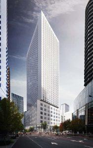 Hyatt Regency Seattle Exterior_LMN Architects