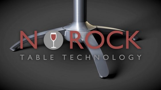 No Rock Even-stable table technology from Contract Furniture Store