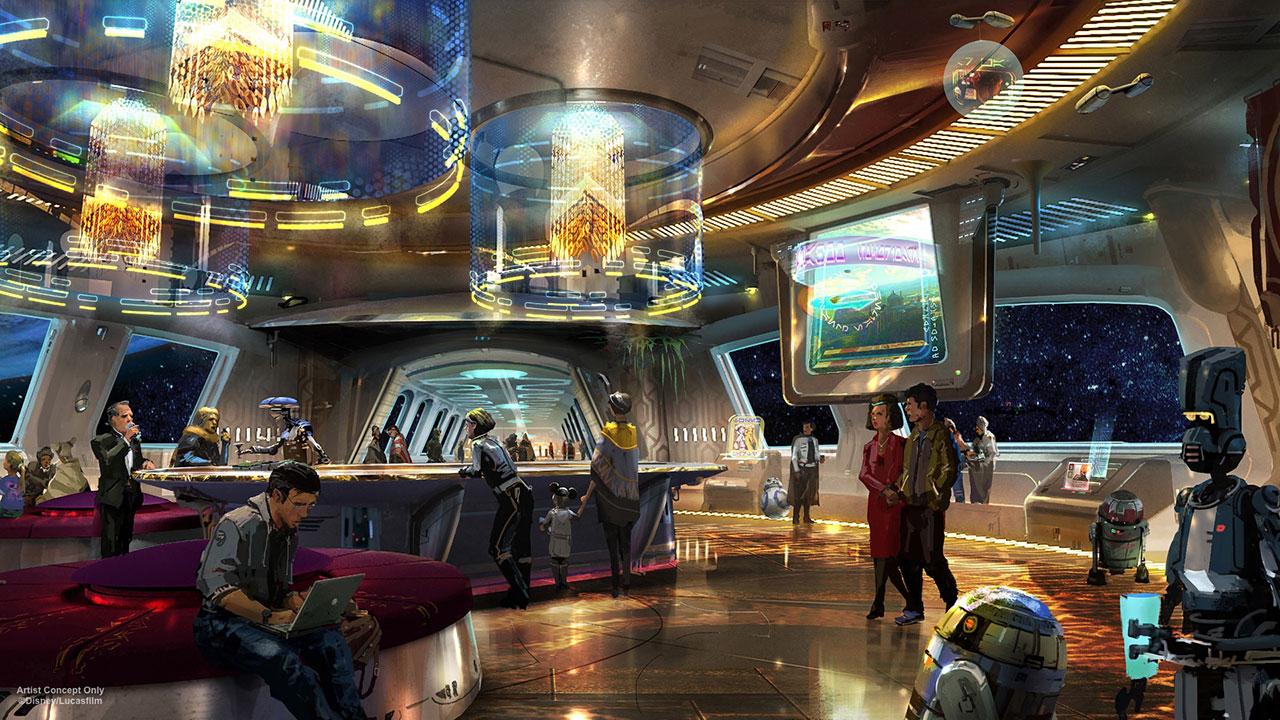 Disney reveals sneak peek at Star Wars-themed resort