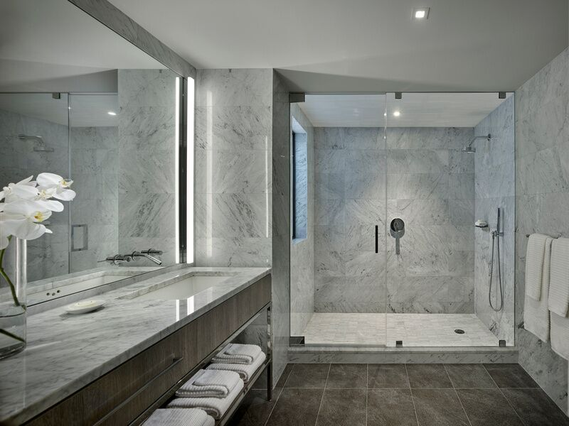 Building A Bathroom Vanity >> Landmarked hotel AKA Times Square reveals penthouse collection