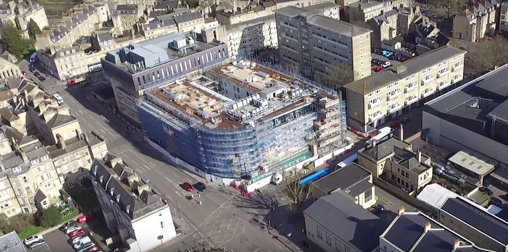 The team at Apex City of Bath Hotel is celebrating yet another milestone as the grand opening of the new £35 million property approaches.