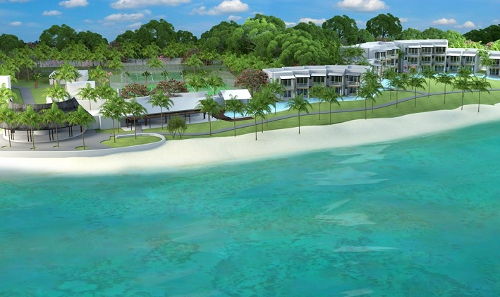 First 39 swim up 39 rooms to launch at mauritius 39 victoria for Pool designs victoria