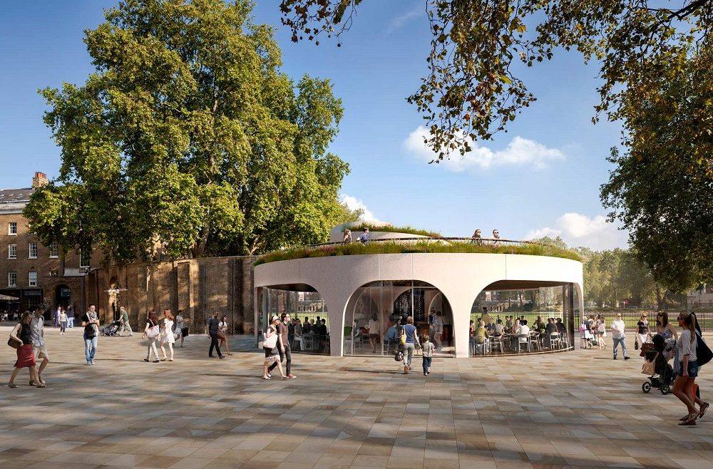Cadogan Café wins at New London Architecture Awards