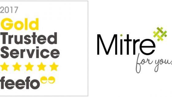 Mitre - Feefo Award