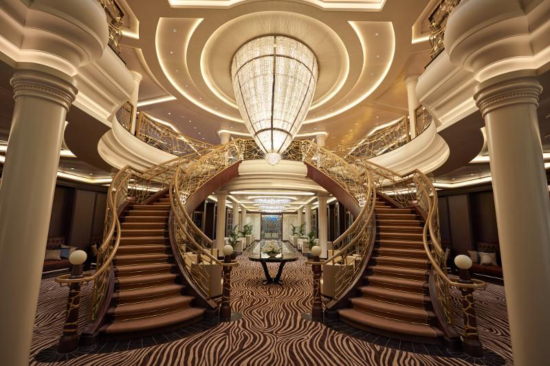 Regent 7 Seas Atrium - Chelsom