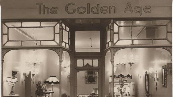The Golden Age shop front