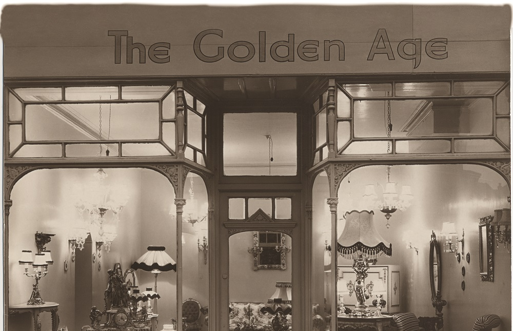 The Golden Age shop front