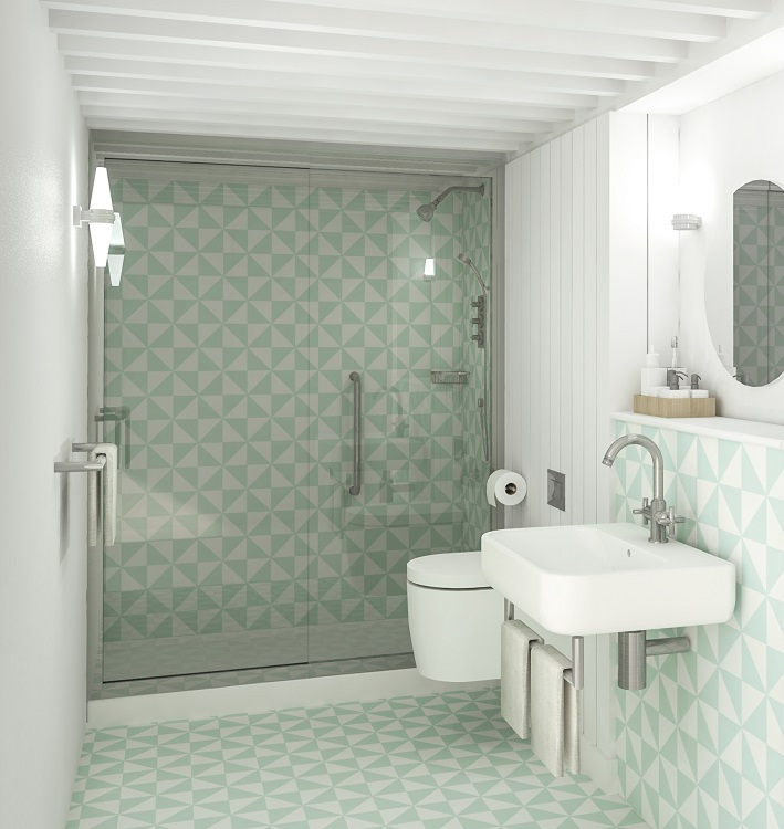 Room 2 Southampton Bathroom Hotel Designs