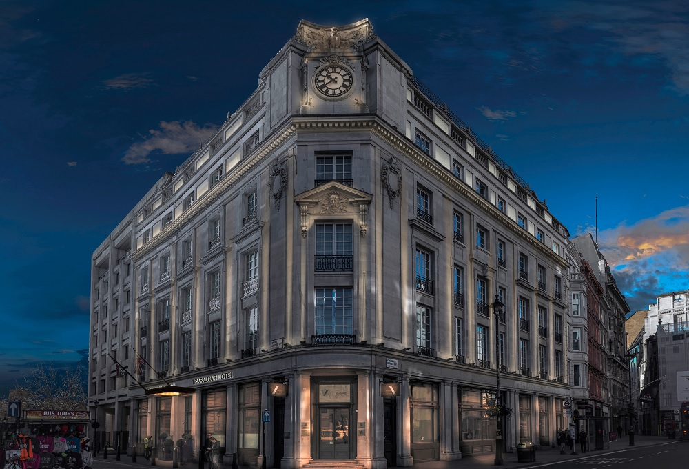 First Curio hotel opens in London - The Trafalgar St James