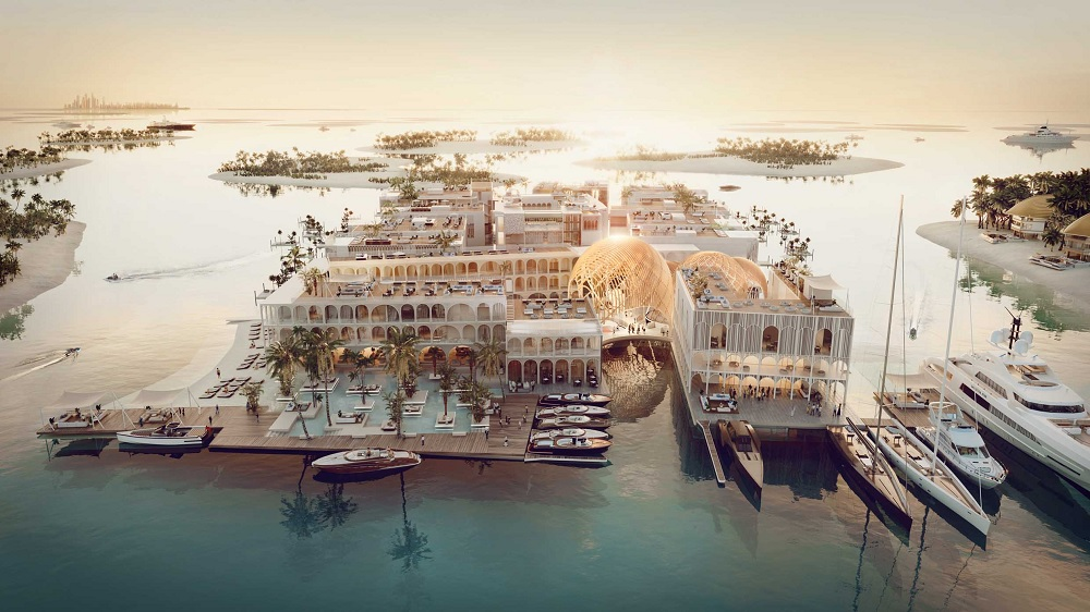 Kleindienst Group Launches The Floating Venice underwater resort in The World Islands, Dubai