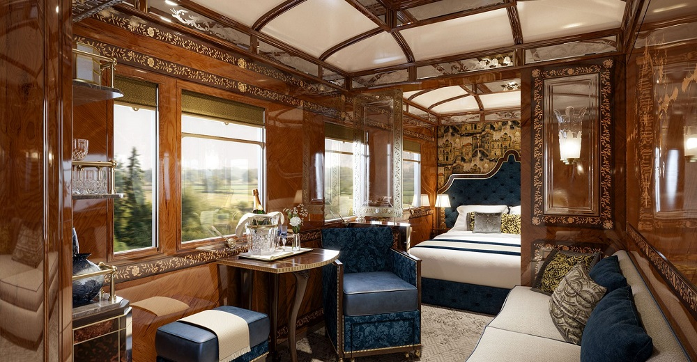Wimberly Interiors reveal Orient Express designs Hotel Designs