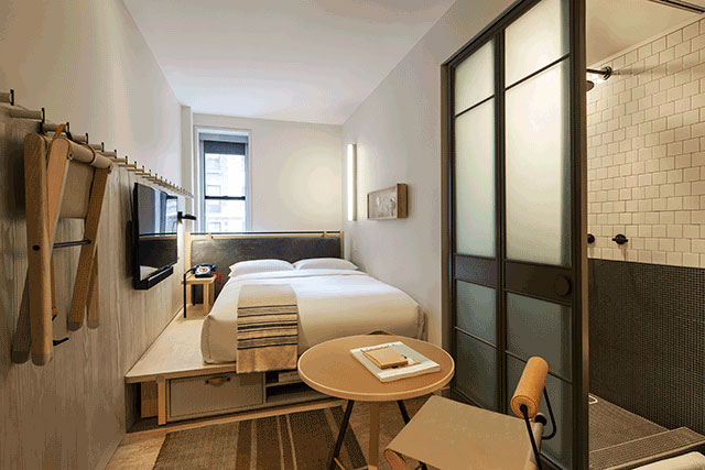 The Moxy Times Square, the 15th property in the brand's portfolio, has celebrated its grand opening in the former Mills Hotel in Manhattan.