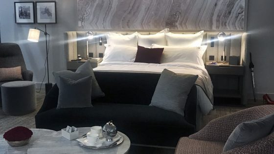 Perfect hotel bedroom - IHS 2017