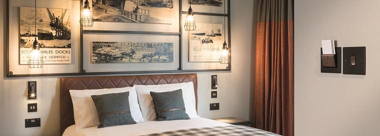 Hamilton Litestat at Hotel Indigo Cardiff