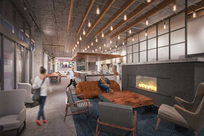 Moxy Seattle Downtown Opening Mid December Hotel Designs