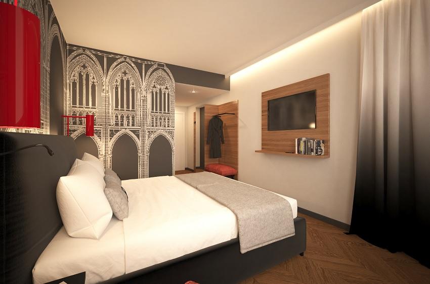 Novum hospitality planning a niu hotel in regensburg for Designhotel regensburg