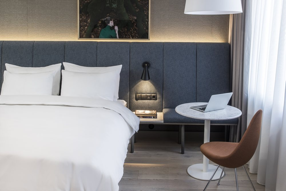 New design at Radisson Blu Strand Hotel, Stockholm