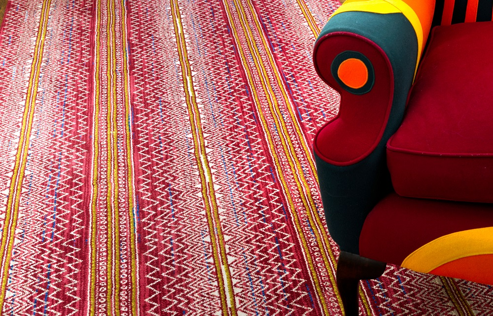 Batik runner, Kit Kemp by Wilton Carpets