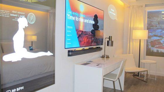 Marriott reveals 'IoT' hotel room of the future...
